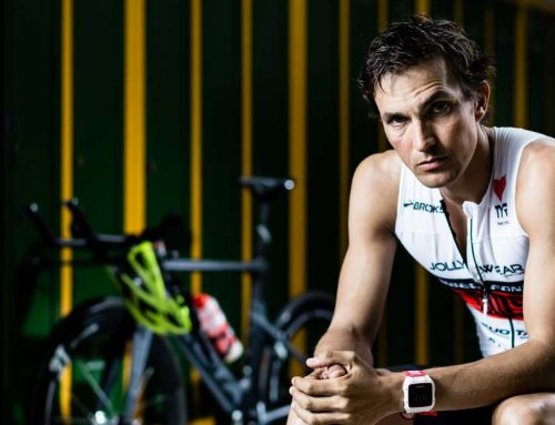 Daniel Fontana, il triatleta paziente