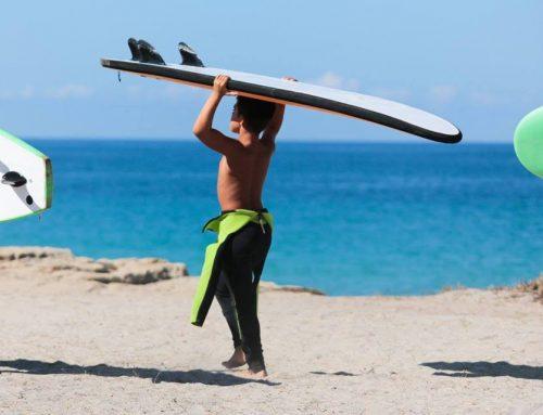 Surf, quando l'avventura inizia in tenera età